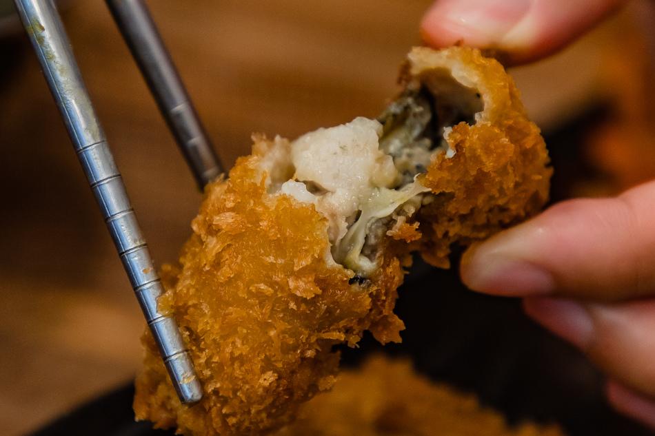 日本炸牡蠣
