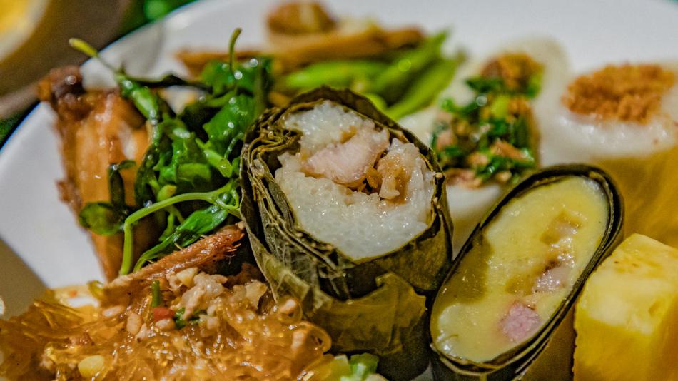 小米粽與阿拜。