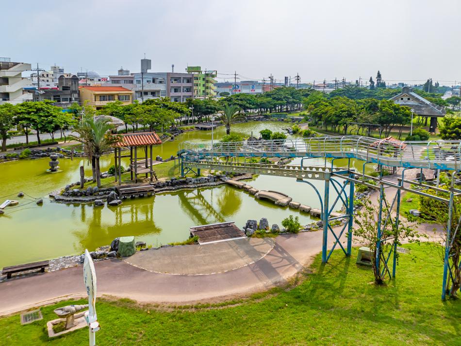 沖繩自駕行DAY2-2 - 西崎親水公園 x 好高好長的溜滑梯