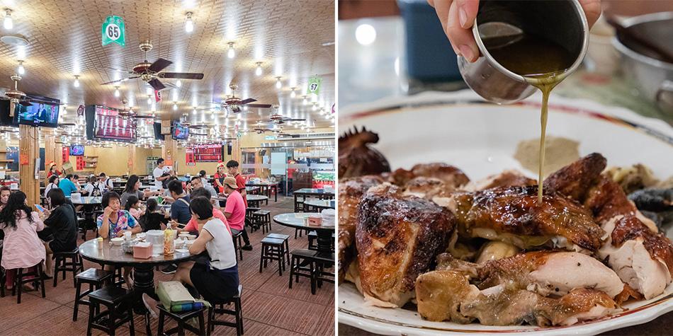 屏東美食 - 宜蘭礁溪甕窯雞(南州店) x 有烤爐專利的烤雞肉