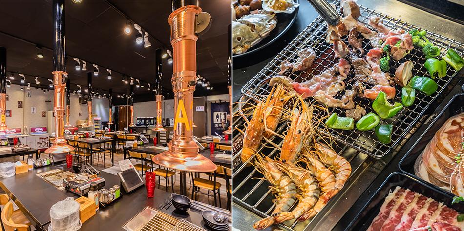高雄美食野饌燒肉 / 泰國蝦吃到飽野饌燒肉 / 泰國蝦吃到飽