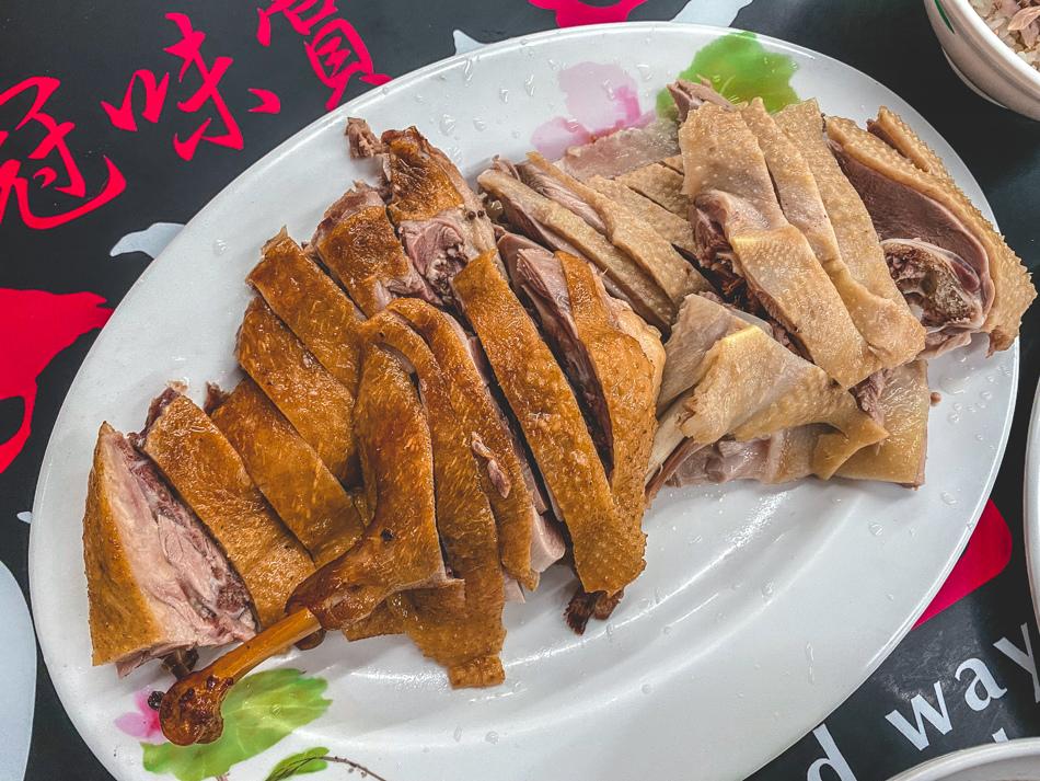 楠梓美食 - 冠味賞鴨肉飯
