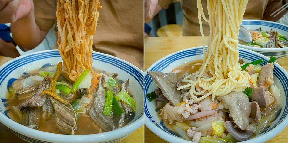 阿蓮美食 - 臭吉伯鱔魚魯麵