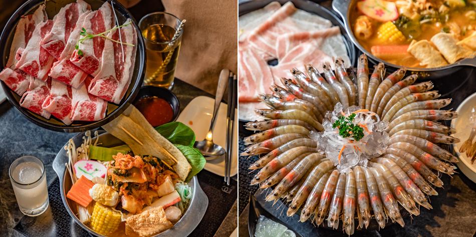 九勺涮涮鍋/韓國泡菜魚糕鍋/酸菜白肉鍋