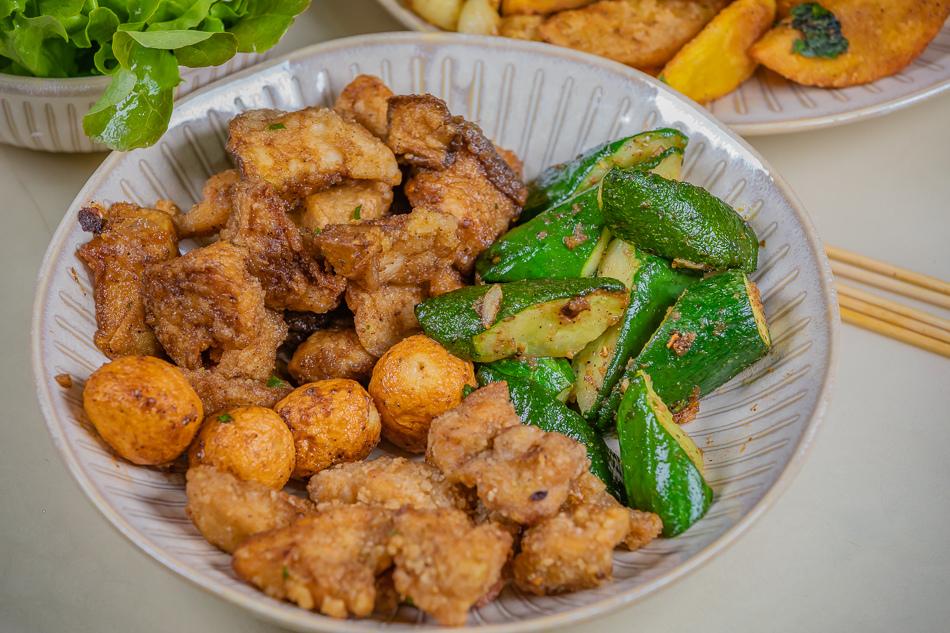 岡山 龍峰宮鹽酥雞