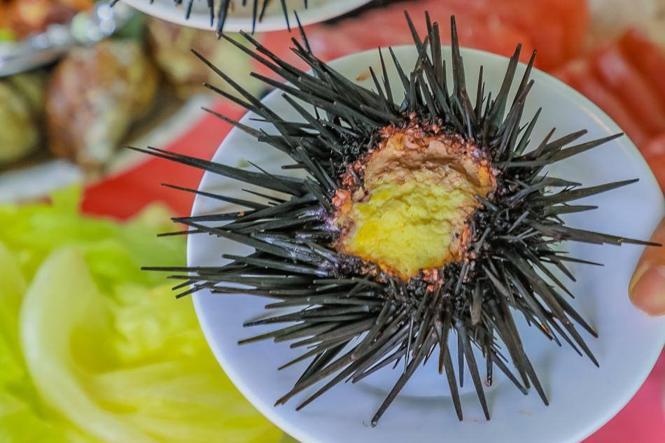 紫海膽蒸蛋