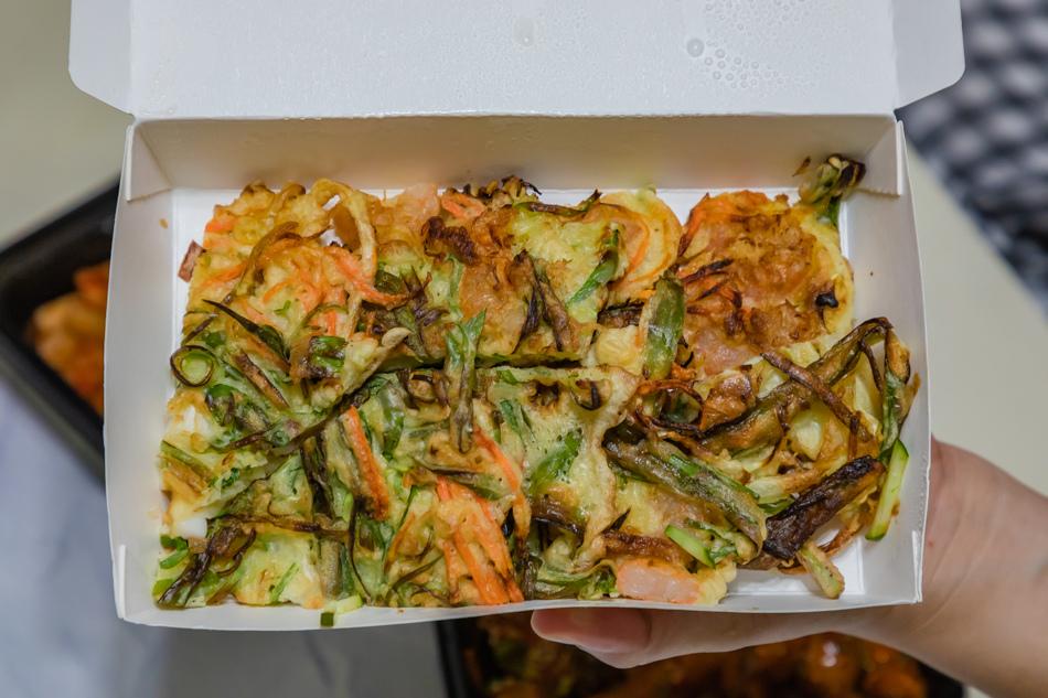 海鮮蔥煎餅(130元)