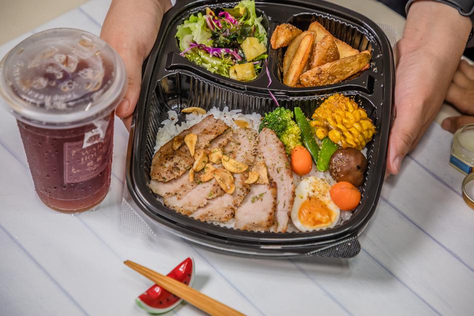 暖暖輕食坊外帶餐盒