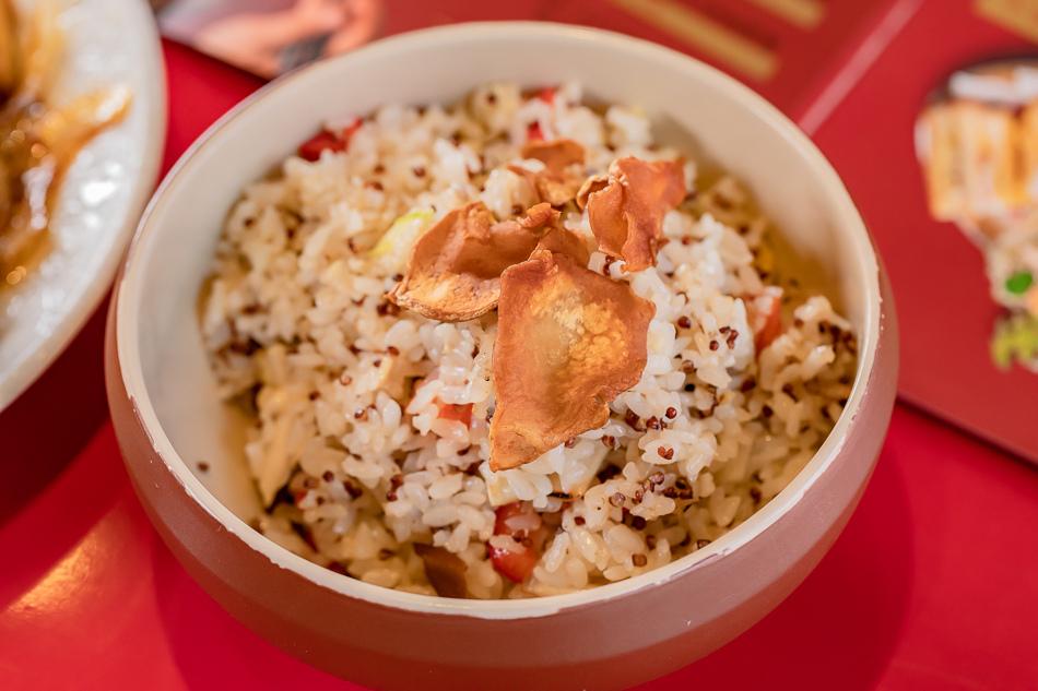 好飯遇所紅藜鮮蔬菜飯(原價118元)