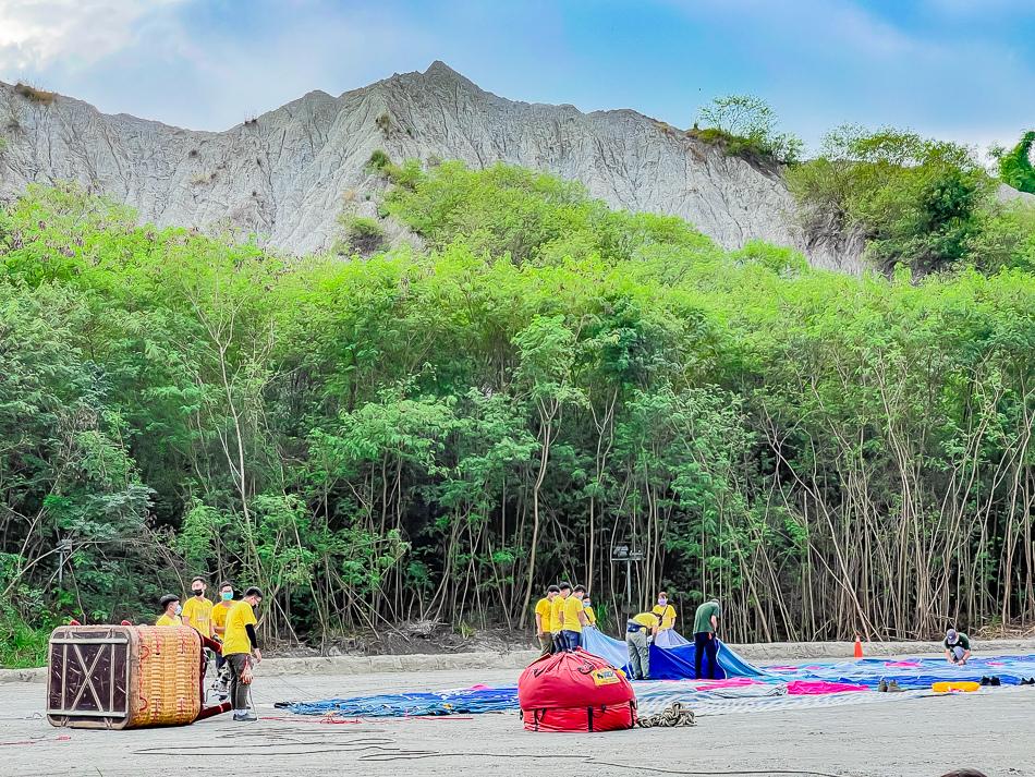 高雄田寮月世界熱氣球