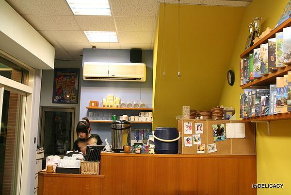 高雄左營遊戲飲食館GameCafe-吧台區