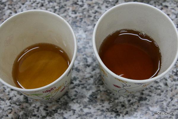 三多利烏龍茶-傳統道地口味與台灣開X烏龍茶做比較