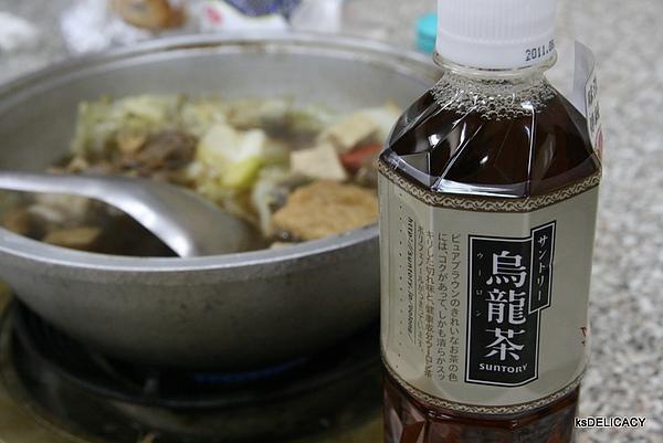 三多利烏龍茶-傳統道地口味-配上傳統羊肉爐