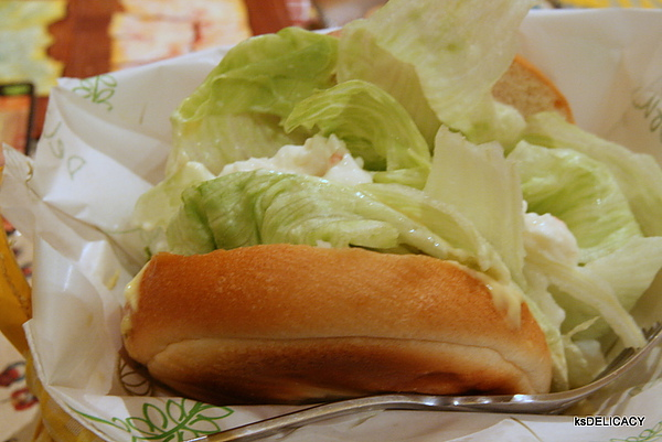 20101013-高雄桌遊又一章-Fun4-鮮蔬翠綠貝果-內用70元