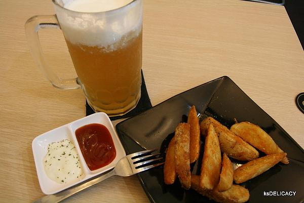 龐奇PUNCH-炸物-半月薯條-沾醬