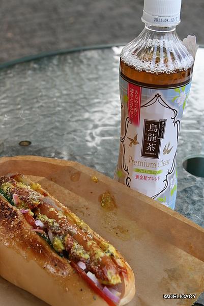 三多利烏龍茶-黃金桂烏龍茶-配上日本料理