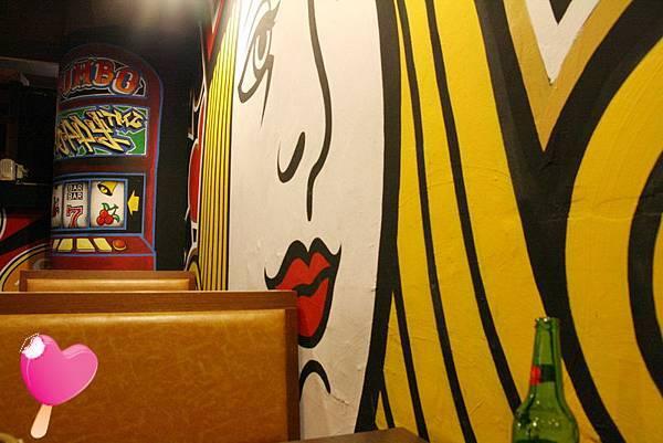 五福二路新樂園 - 牆面插圖