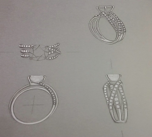 亞爵鑽石一克拉戒指1 (2)