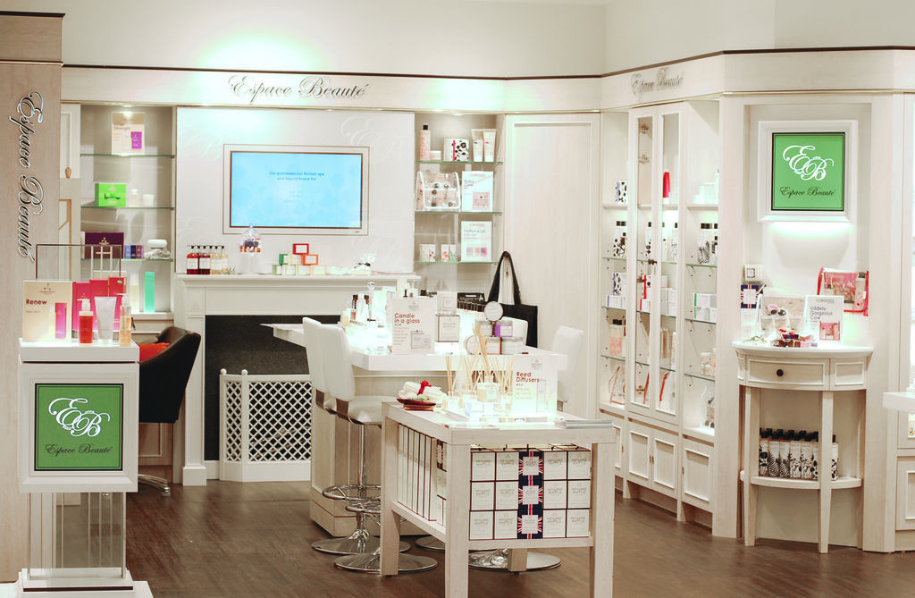 Espace Beauté 櫃上照片