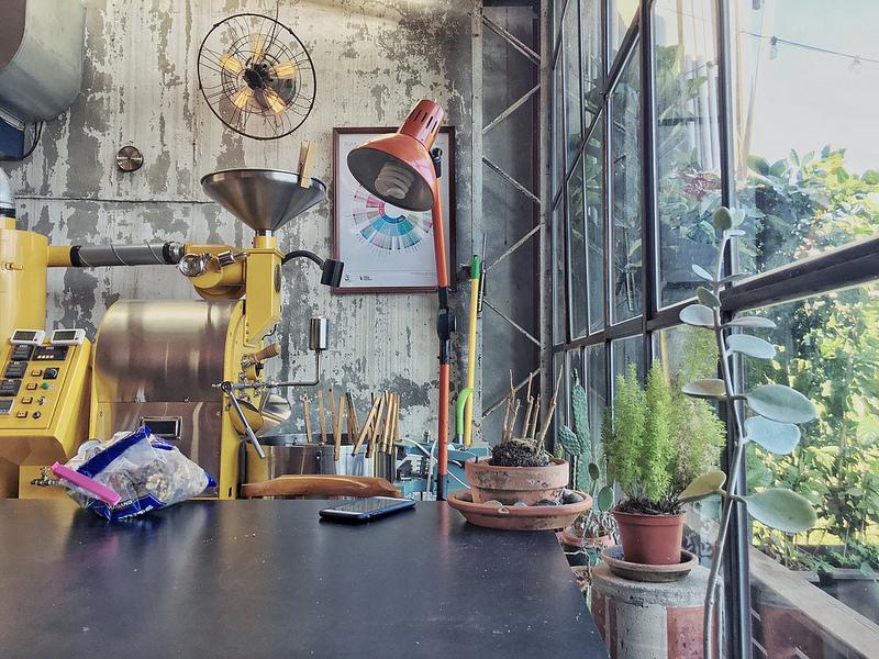 【文山/木柵】Ruins Coffee Roaster- 廢墟咖啡|是工廠還是文青咖啡廳?