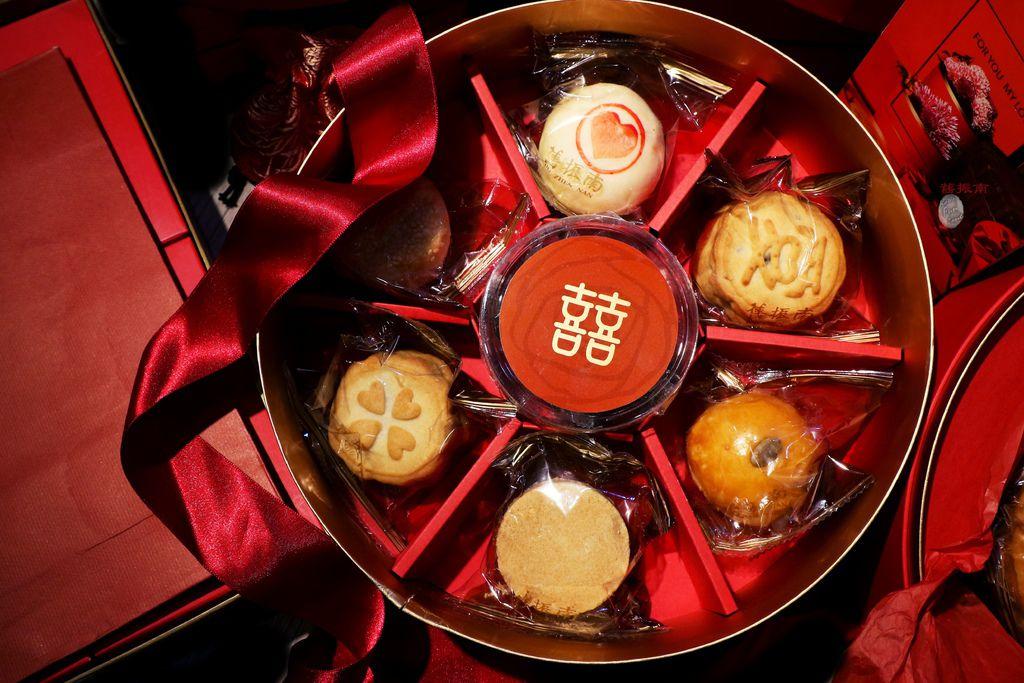 舊振南餅店- 奢華質感中式大餅禮盒|喜餅試吃