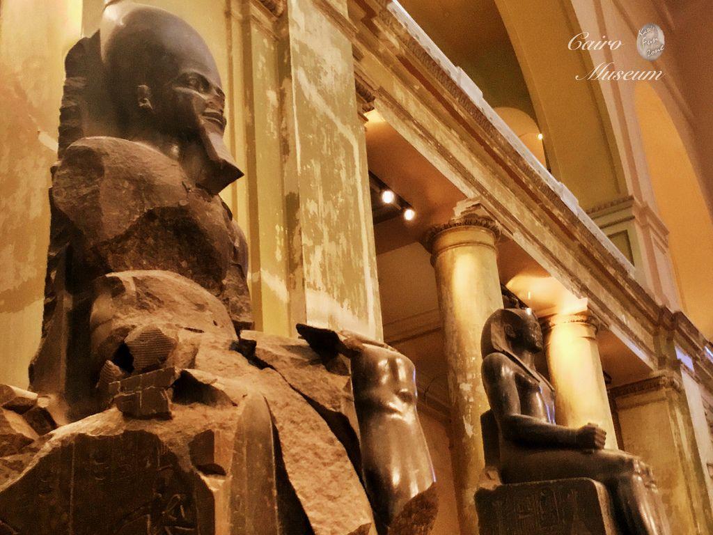 【開羅】Egyptian Museum 埃及博物館- 埃及文明珍品