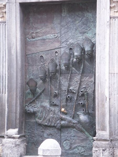 20080421-009 Bronze door of Cathedral of St Nicholas(Ljubljana)-PICT3163.JPG