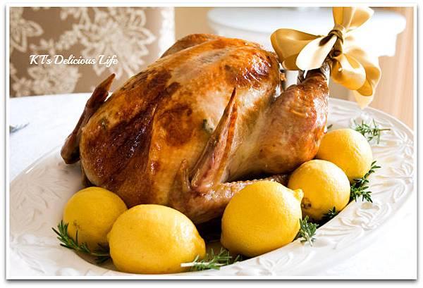 感恩节火鸡攻略大全 - 柠檬香草烤火鸡