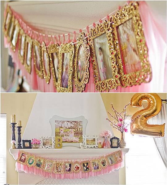 Pink-and-gold-decorations