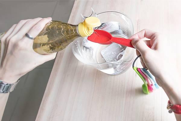 天然檸檬白醋無毒清潔液1