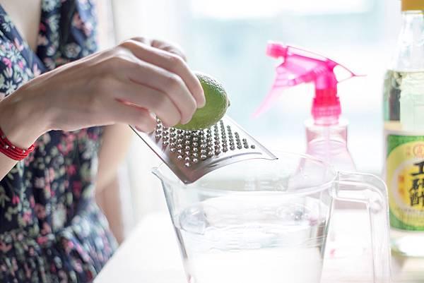 天然檸檬白醋無毒清潔液3