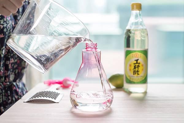 天然檸檬白醋無毒清潔液2