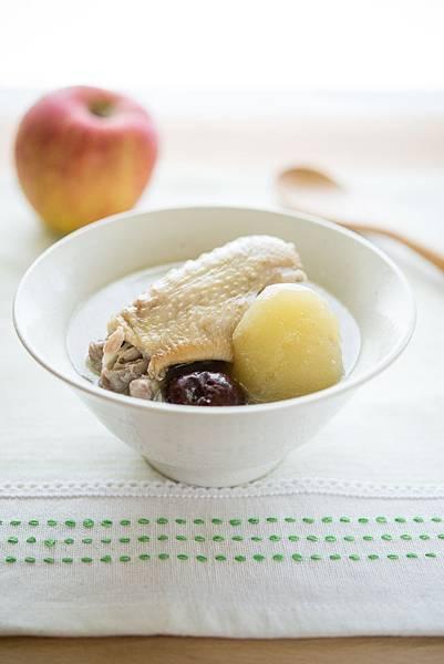 蘋果紅棗雞湯 -1