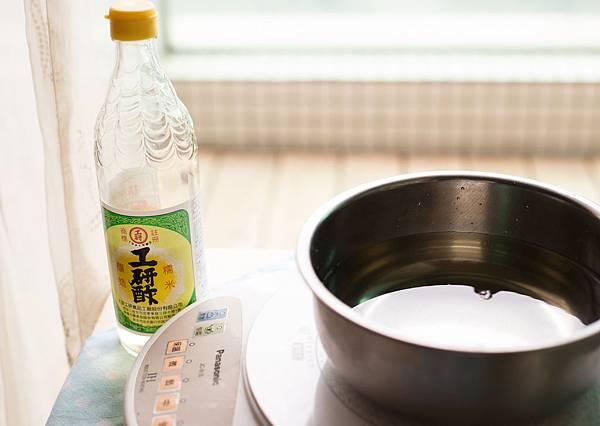 煮醋消毒法0