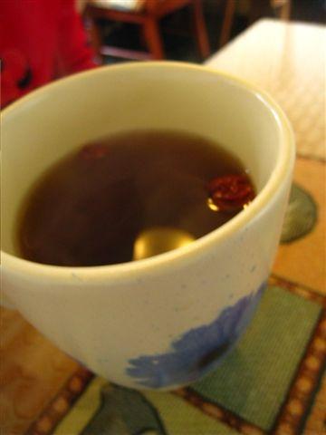 附餐飲料*熱茶