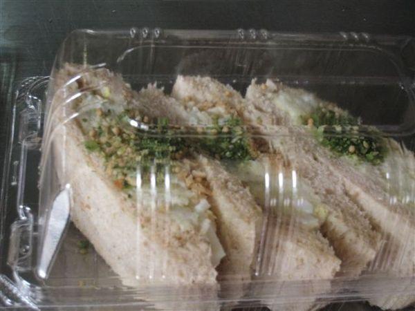 麥芽糖*沙拉馬鈴薯三明治