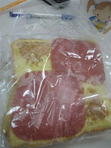 麥芽糖*法蘭希哈姆肉鬆吐司