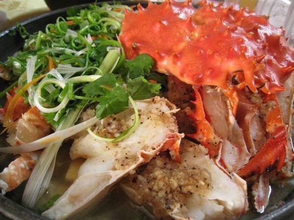 蒜香帝王蟹