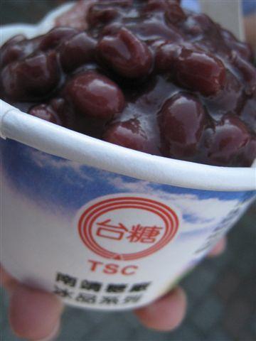 南靖糖廠*紅豆牛奶冰
