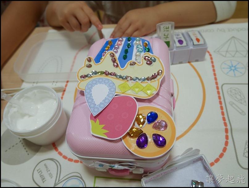 彩糖貝貝  珠寶行李箱P1190588