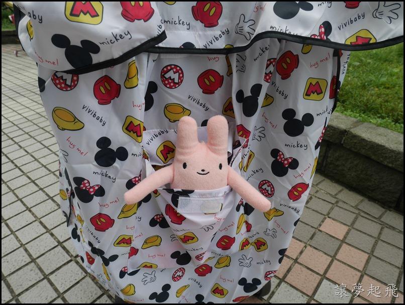 迪士尼 嬰兒車雨罩047