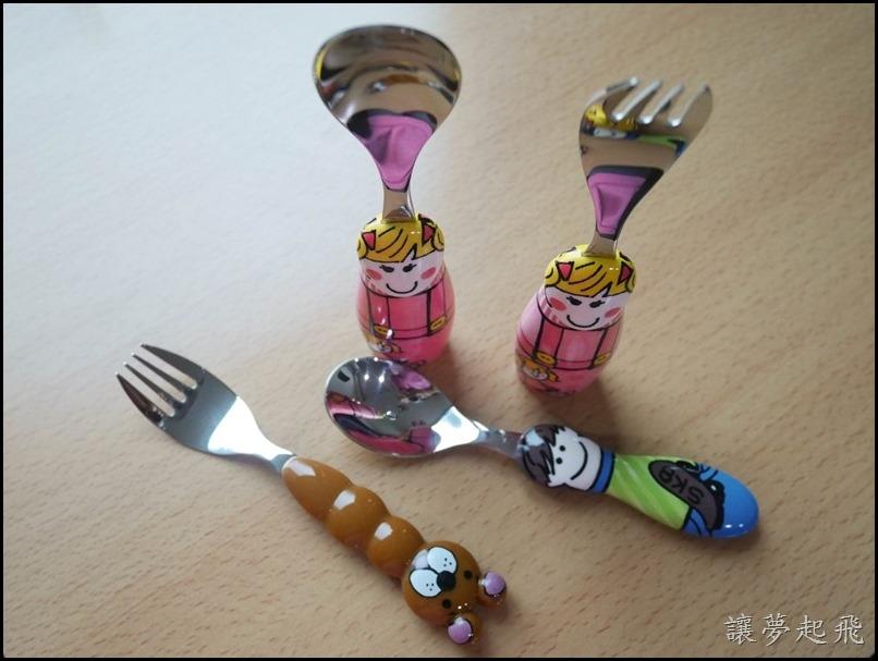 EAT4FUN】醫療級不鏽鋼316兒童餐具037