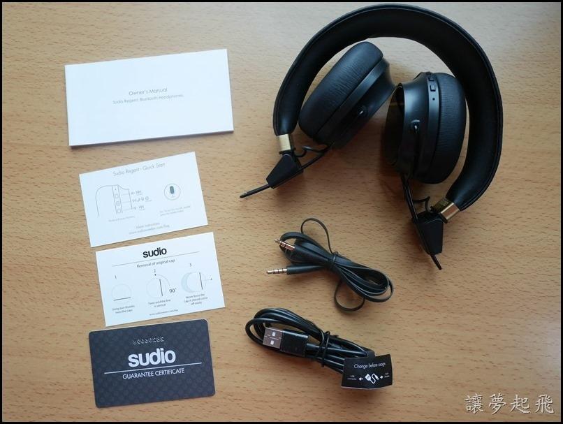 Sudio X Regent藍牙耳機016