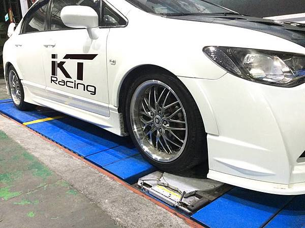 KT Racing KT避震器 KT suspension HONDA CIVIC8 FD1