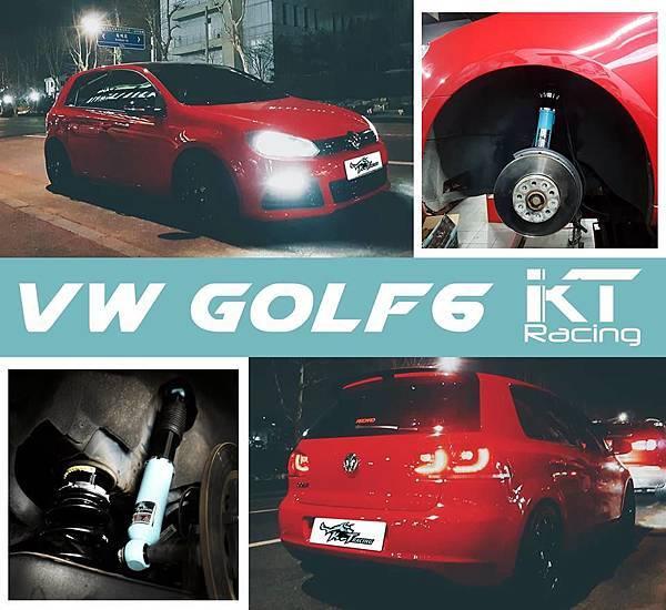 KT Racing KT避震器 KT suspension VW GOLF6 VOLKSWAGEN