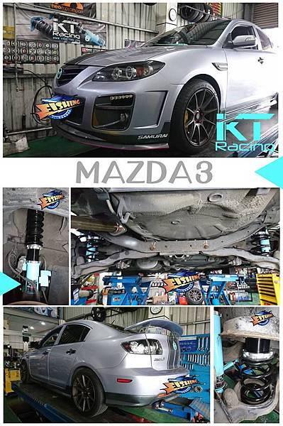 KT Racing KT避震器 KT suspension KT coilover MAZDA 3