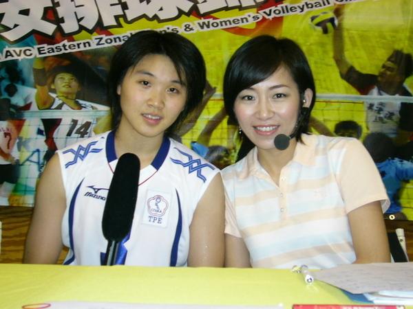 和中華女排舉球未來之星陳慧貞