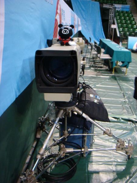 07.08.09-3轉單位TBS電視台攝影機上的豬