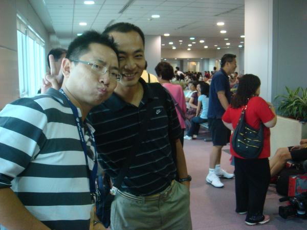 0801-11瑤姐和我的搭檔文振哥.JPG