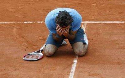 Federer愛哭鬼
